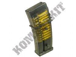 Double Eagle Airsoft Magazine M85 G36 Style Electric BB Machine gun 6mm ammo clip